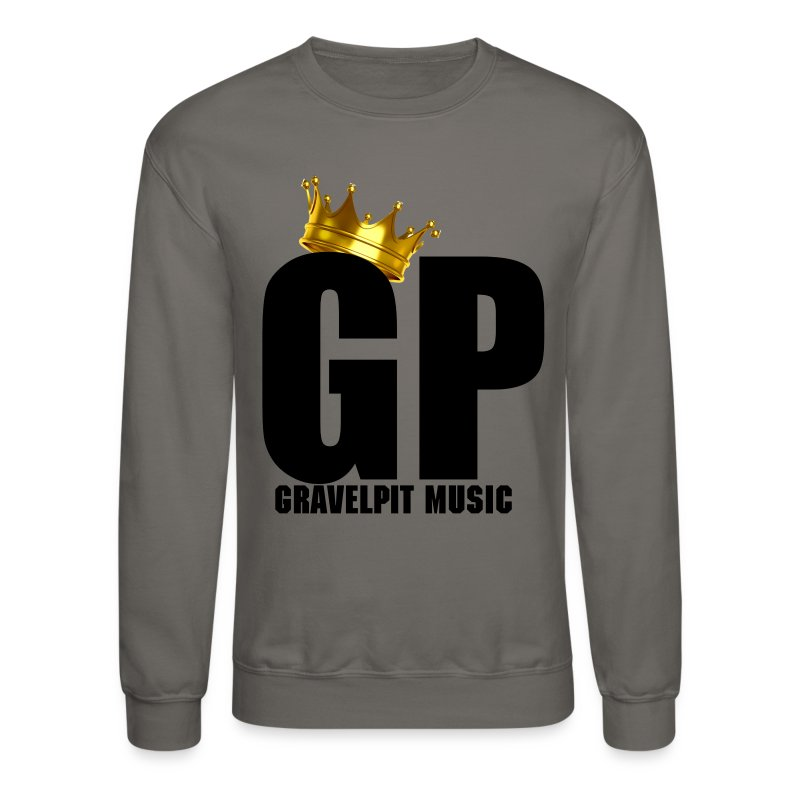 GRAVELPIT CROWN BLACK - Crewneck Sweatshirt