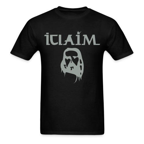 ICLAIM Christ Optical Illusion T-Shirt - Men's T-Shirt