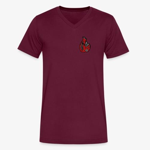 Bitxa V-Neck - Men's V-Neck T-Shirt by Canvas