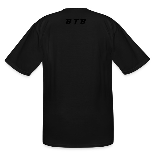 Men's Tall T-Shirt - Show your support for the working class and give your BOSS THE BIRD!!!!!