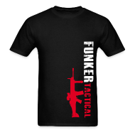 T-Shirts ~ Men's T-Shirt ~ Funker Tactical & SCAR Left Side t-shirt