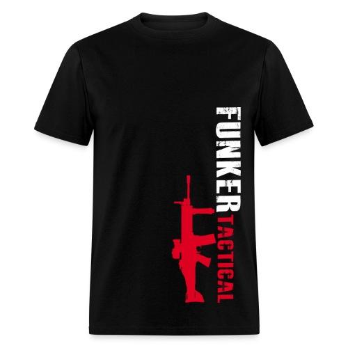 Funker Tactical & SCAR Left Side t-shirt - Men's T-Shirt