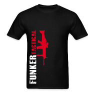 T-Shirts ~ Men's T-Shirt ~ Funker Tactical & SCAR Right Side t-shirt
