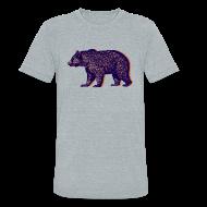 T-Shirts ~ Unisex Tri-Blend T-Shirt ~ CHICAGO BEAR