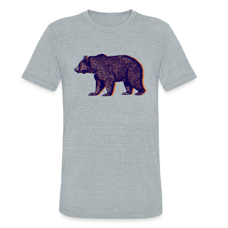 CHICAGO BEAR - Unisex Tri-Blend T-Shirt by American Apparel