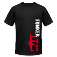 T-Shirts ~ Men's T-Shirt by American Apparel ~ AA Funker Tactical & SCAR