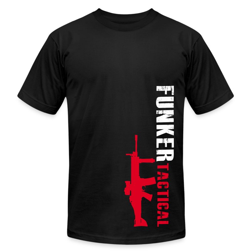 AA Funker Tactical & SCAR - Men's T-Shirt by American Apparel