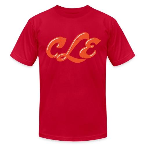 SCRIPT CLE - Men's Fine Jersey T-Shirt