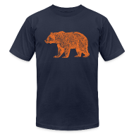 T-Shirts ~ Men's T-Shirt by American Apparel ~ CHICAGO BEAR