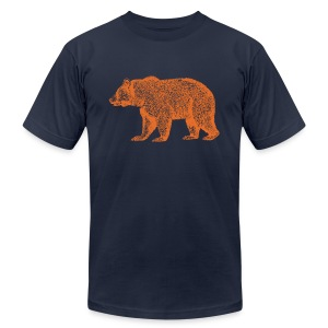 CHICAGO BEAR - Men's Fine Jersey T-Shirt
