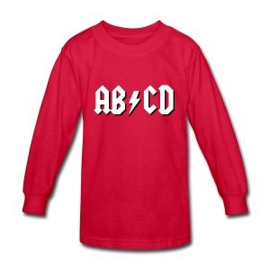 ABCD - Kids' Long Sleeve T-Shirt