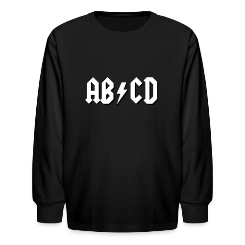 ABCD - Kids' Long Sleeve T-Shirt