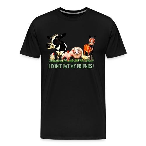 Loving Animals - Men's Premium T-Shirt