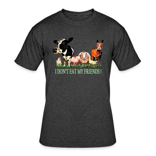 Loving Animals - Men's 50/50 T-Shirt