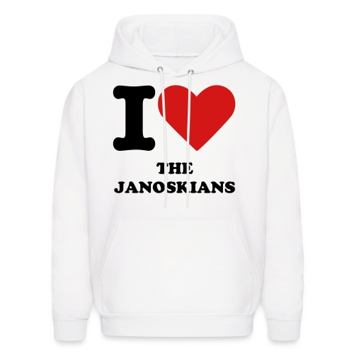 I heart the Janoskians - Men's Hoodie