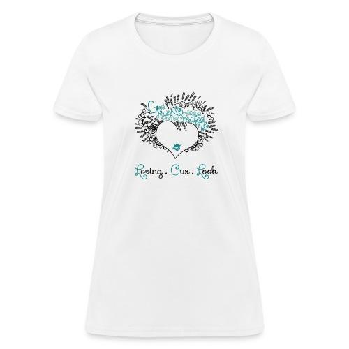 White Signature Shirt  - Women's T-Shirt