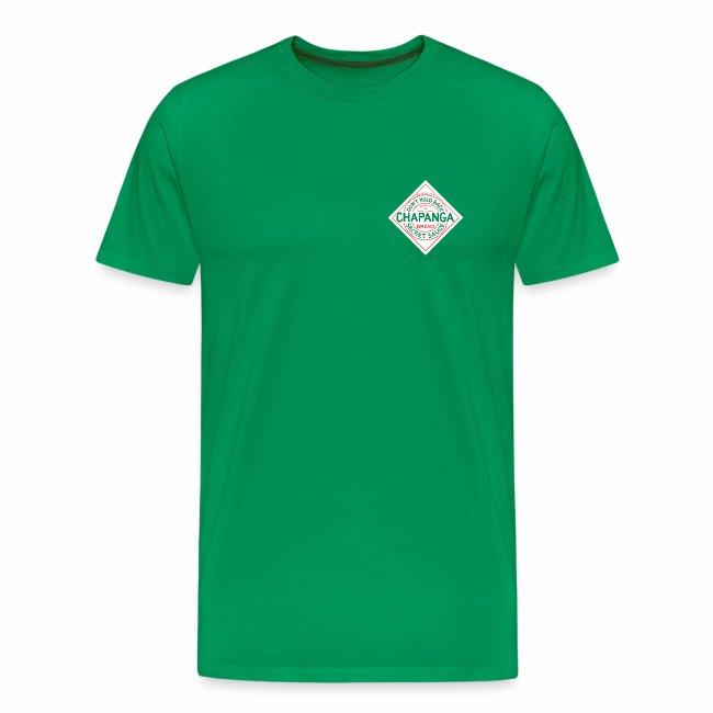 Chapanga Men's T-shirt (lapel front) (premium)