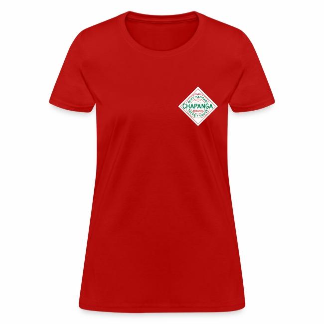 Chapanga Ladies' T-shirt (lapel front)