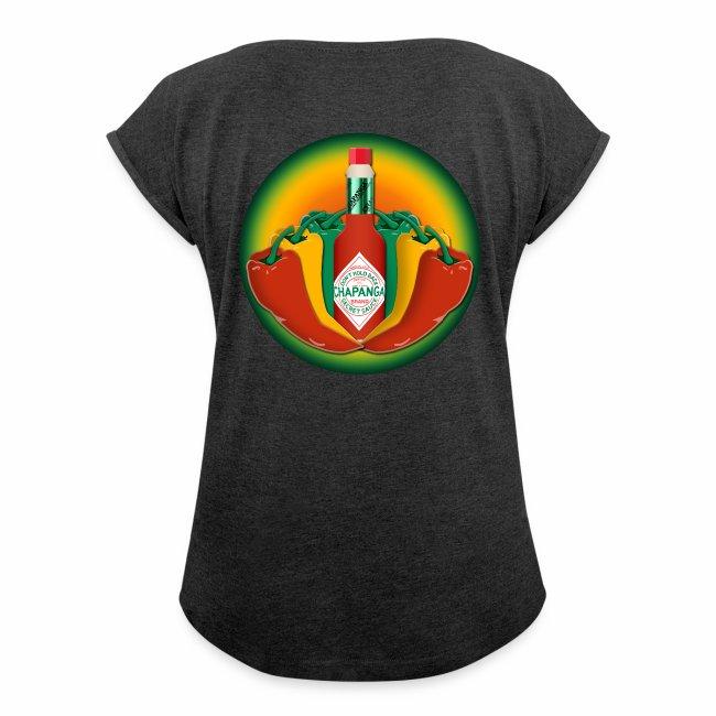 Chapanga Ladies' Ultra-Comfrotable T-shirt (lapel front)