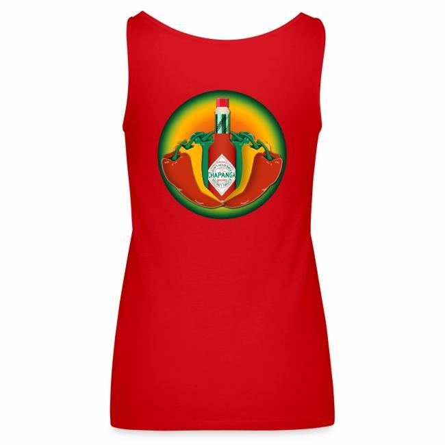 Chapanga Ladies' Tank Top (lapel front)