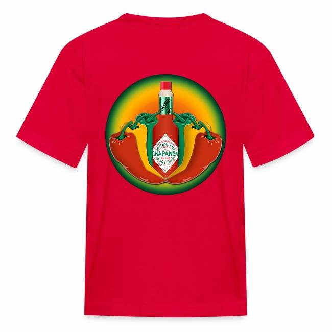 Chapanga Kids' T-shirt (lapel front)