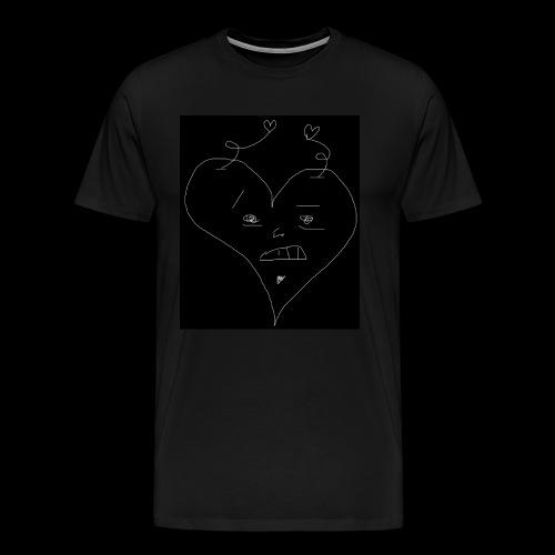 Heart Man Shirt - Men's Premium T-Shirt