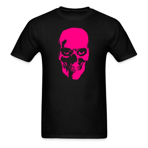 Creepy Skull - NEON - Men's T-Shirt