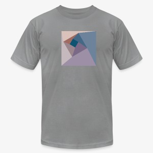 Geometric Vortex - Men's American Apparel - Men's T-Shirt by American Apparel
