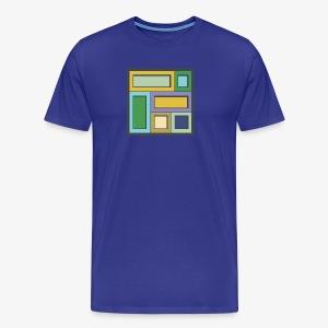 Squares & Rectangles - Men's Premium - Men's Premium T-Shirt