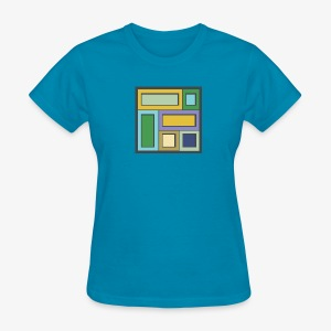 Squares & Rectangles - Women's Basic - Women's T-Shirt