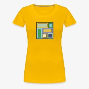 Squares & Rectangles - Women's Premium - Women's Premium T-Shirt