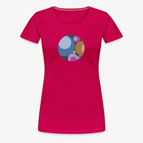 Playful Orbs - Women's Premium - Women's Premium T-Shirt