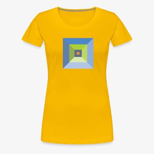 Bird's Eye Pyramid - Women's Premium - Women's Premium T-Shirt