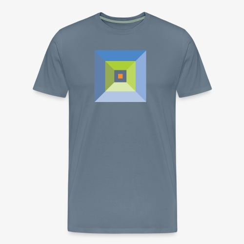 Bird's Eye Pyramid - Men's Premium - Men's Premium T-Shirt
