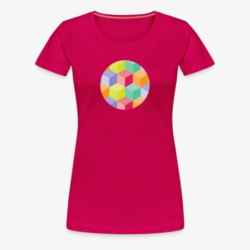 Cubed Circle - Women's Premium - Women's Premium T-Shirt
