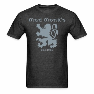 Mad Monk's lion crest Black - Men's T-Shirt