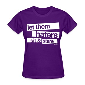 [2NE1] Haters Sit and Stare - Women's T-Shirt