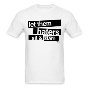[2NE1] Haters Sit and Stare - Men's T-Shirt