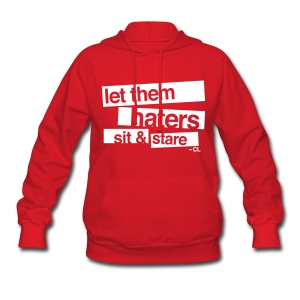 [2NE1] Haters Sit and Stare - Women's Hoodie