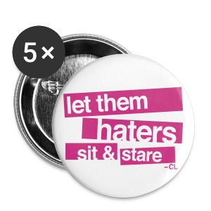 [2NE1] Haters Sit and Stare - Large Buttons