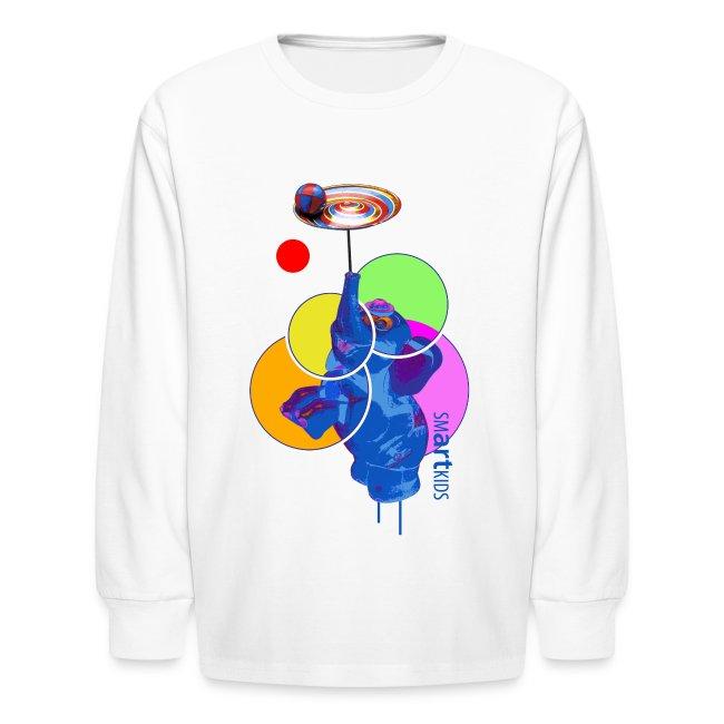 SMARTKIDS - MUMBO JUMBO - front print - xs/l kids - multi colors