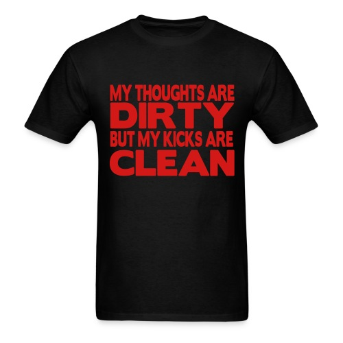 DIRTY MIND - Men's T-Shirt