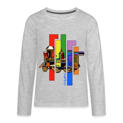 SMARTKIDS - COCO LOCOMOFO - front print - xs/l kids - multi colors - Kids' Premium Long Sleeve T-Shirt