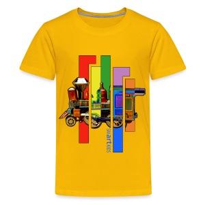 SMARTKIDS - COCO LOCOMOFO - front print - xs/l kids - multi colors - Kids' Premium T-Shirt