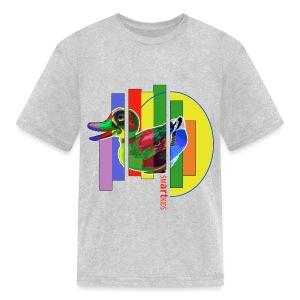SMARTKIDS - GUTSY DUCK - front print - s/xl kids - multi colors - Kids' T-Shirt