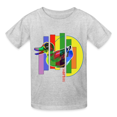 SMARTKIDS - GUTSY DUCK - front print - s/xl kids - multi colors - Kids' T-Shirt