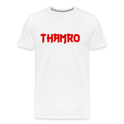 White Thamro - Men's Premium T-Shirt