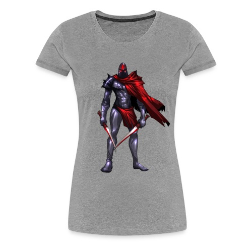 The Ghost Ladies Cut - Women's Premium T-Shirt