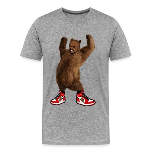 Cringing Omar Bear - Men's Premium T-Shirt