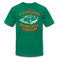 T-Shirts ~ Men's T-Shirt by American Apparel ~ CLEVELAND MUNICIPAL STADIUM